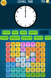 Words Crush Level 168 Answers Puzzle