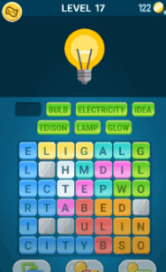 Words Crush Level 17 Answers Puzzle