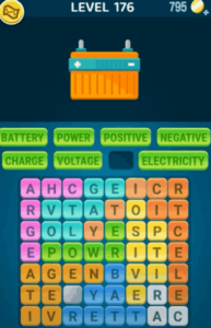 Words Crush Level 176 Answers Puzzle