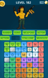 Words Crush Level 182 Answers Puzzle