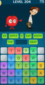 Words Crush Level 204 Answers Puzzle