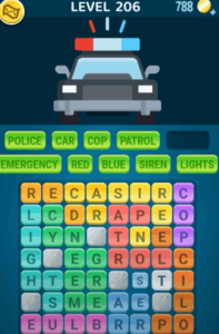 Words Crush Level 206 Answers Puzzle