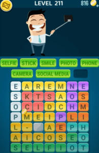 Words Crush Level 211 Answers Puzzle
