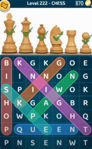 Words Crush Level 222 Answers Puzzle