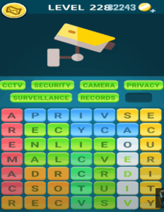 Words Crush Level 228 Answers puzzle