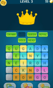 Words Crush Level 3 Answers Puzzle