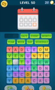 Words Crush Level 50 Answers Puzzle