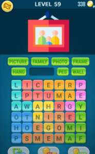 Words Crush Level 59 Answers Puzzle
