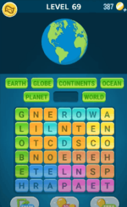 Words Crush Level 69 Answers Puzzle