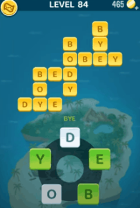 Words Crush Level 84 Answers Puzzle