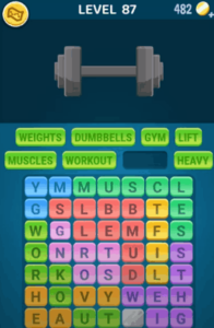 Words Crush Level 87 Answers Puzzle