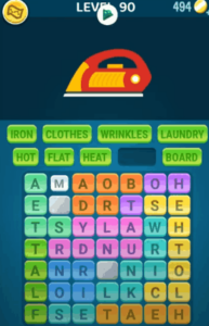 Words Crush Level 90 Answers Puzzle