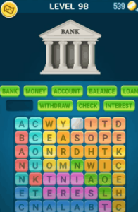 Words Crush Level 98 Answers Puzzle