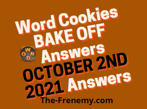 Word Cookies Bake Off October 2 2021 Answers Puzzle