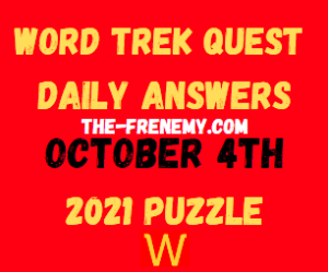 Word Trek Quest Daily Puzzle October 5 2021 Answers