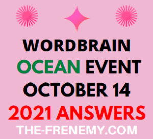 WordBrain Ocean Event October 14 2021 Answers Puzzle
