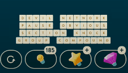 WordBrain Puzzle of the Day October 1 2021 Answers Today
